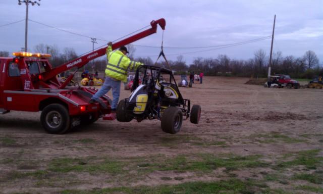 Montpelier Speedway damage